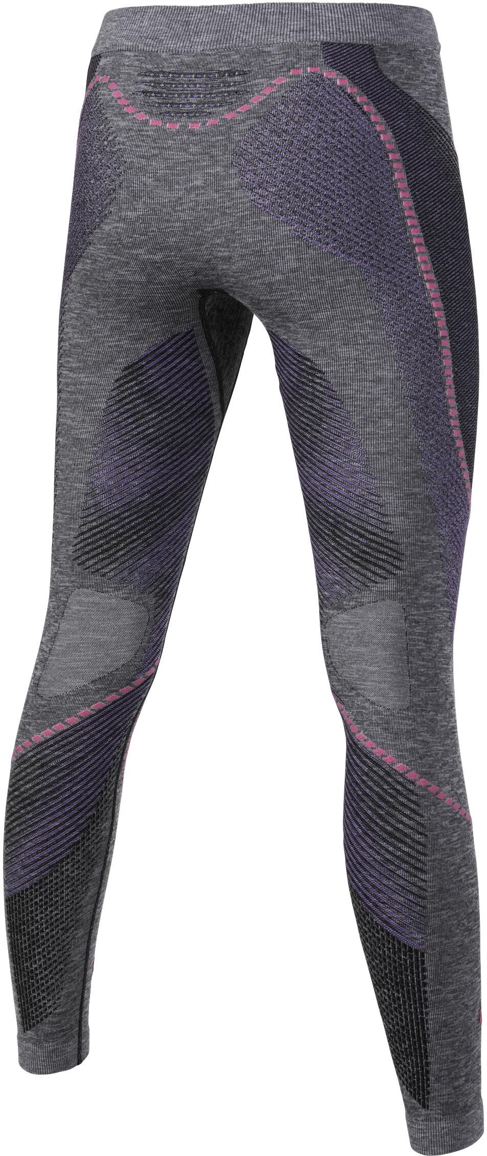 UYN Ambityon Melange UW Long Pants Women Black Melange Purple Raspberry d81f09d0704